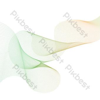 Line segment combination decorative pattern PNG Images Template PSD