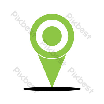 Location targeting PNG Images Template PSD