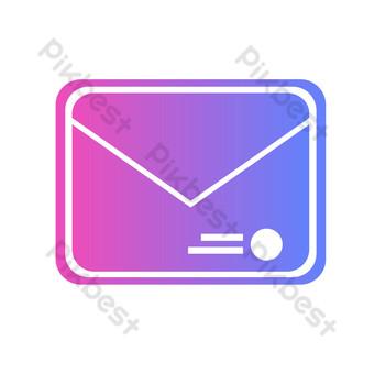 icono de correo Elementos graficos Modelo AI