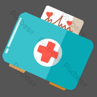 medicina medico de la cruz roja Elementos graficos Modelo PSD