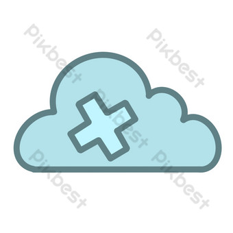 ppt nube icono png mapa gratis Elementos graficos Modelo PSD
