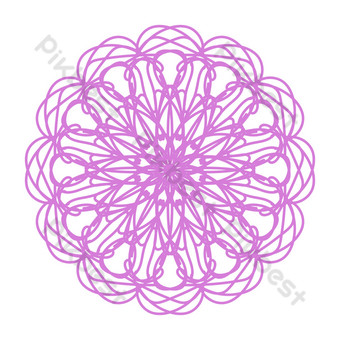patrón creativo rosa púrpura Elementos graficos Modelo AI