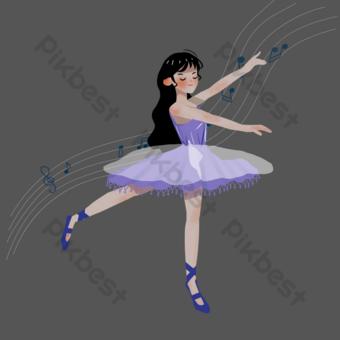 為大學俱樂部舞蹈俱樂部招募新的培訓班 元素 模板 PSD