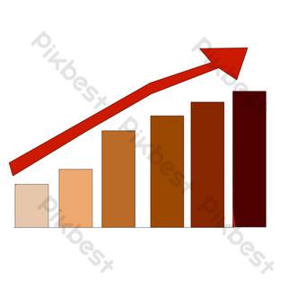 ilustración de dibujado a mano de dibujo de escala roja Elementos graficos Modelo PSD