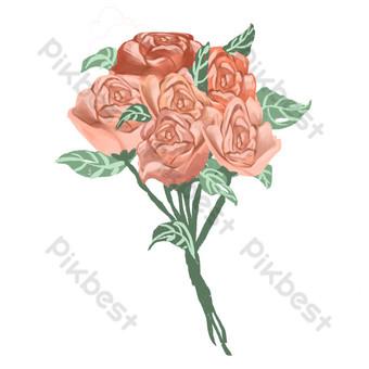 باقات الورد قوالب تصميم صور Psd Png تحميل مجاني Pikbest