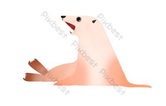 Sea lion show in the aquarium PNG Images Template PSD