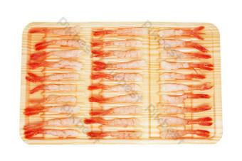 Seafood gourmet arctic shrimp PNG Images Template RAW