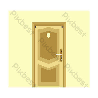 Security door PNG Images Template AI