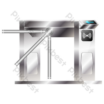 Security gate PNG Images Template AI
