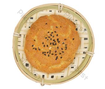 Sesame cake, dessert, dessert PNG Images Template RAW