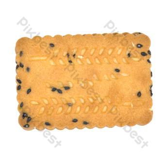 Sesame Multigrain Cake PNG Images Template RAW