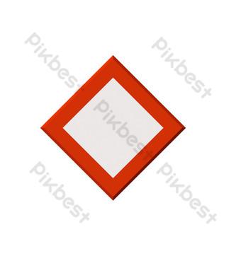 icono de línea de signo de remolque de acera vector de elemento pequeño descarga gratuita Elementos graficos Modelo AI