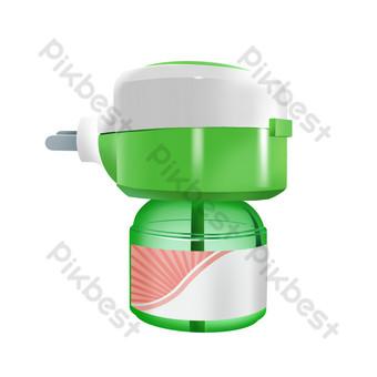 模擬滅蚊電蚊香液 元素 模板 PSD