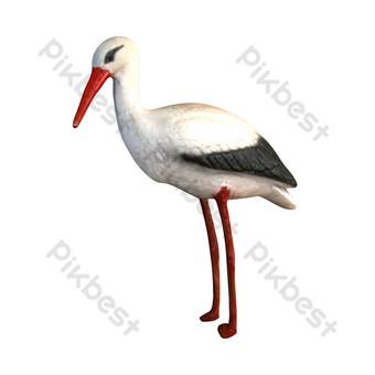 Gambar Burung Bangau Template Psd Png Vektor Download Gratis Pikbest