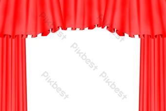 舞台幕布 元素 模板 PSD