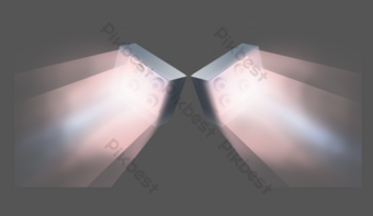 舞檯燈光 元素 模板 PSD