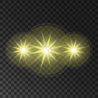 舞檯燈光 元素 模板 AI