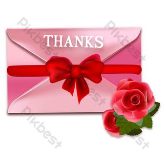 Thanksgiving Merci lettre décoration de carte de voeux Éléments graphiques Modèle AI