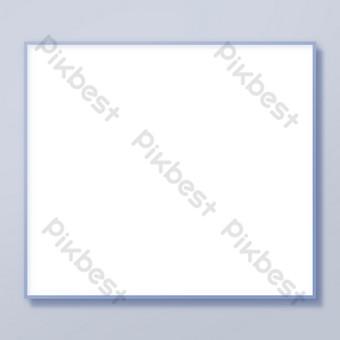 ثلاثي الأبعاد إطار الصورة نسيج الحدود صور PNG قالب PSD