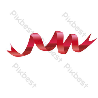 vector băng lụa đỏ băng streamer Công cụ đồ họa Bản mẫu AI