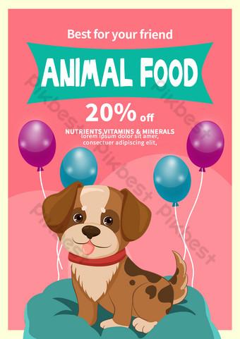 Flyer national pour animaux de compagnie Modèle PSD