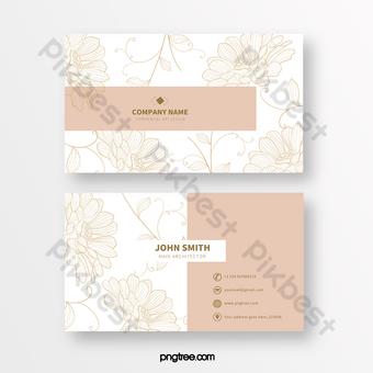 الوردي أزياء خط طباعة بطاقة الأعمال الملمس قالب PSD