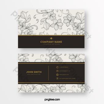 خط بسيط طباعة بطاقة الأعمال الملمس قالب PSD