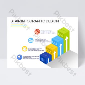Conception de flyers d'informations d'entreprise avancées Modèle PSD
