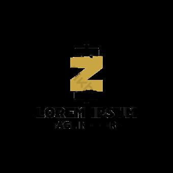Letra Z imagen fitness vector logo diseño concepto Elementos graficos Modelo AI